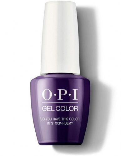 OPI Gelcolor Do you have this color in Stock-Holm?